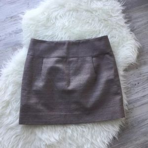 J.Crew pleated Skirt Mini Textured lined